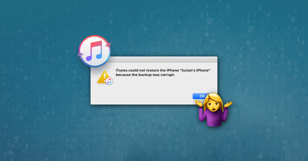 How to fix a corrupt iTunes backup and restore its data