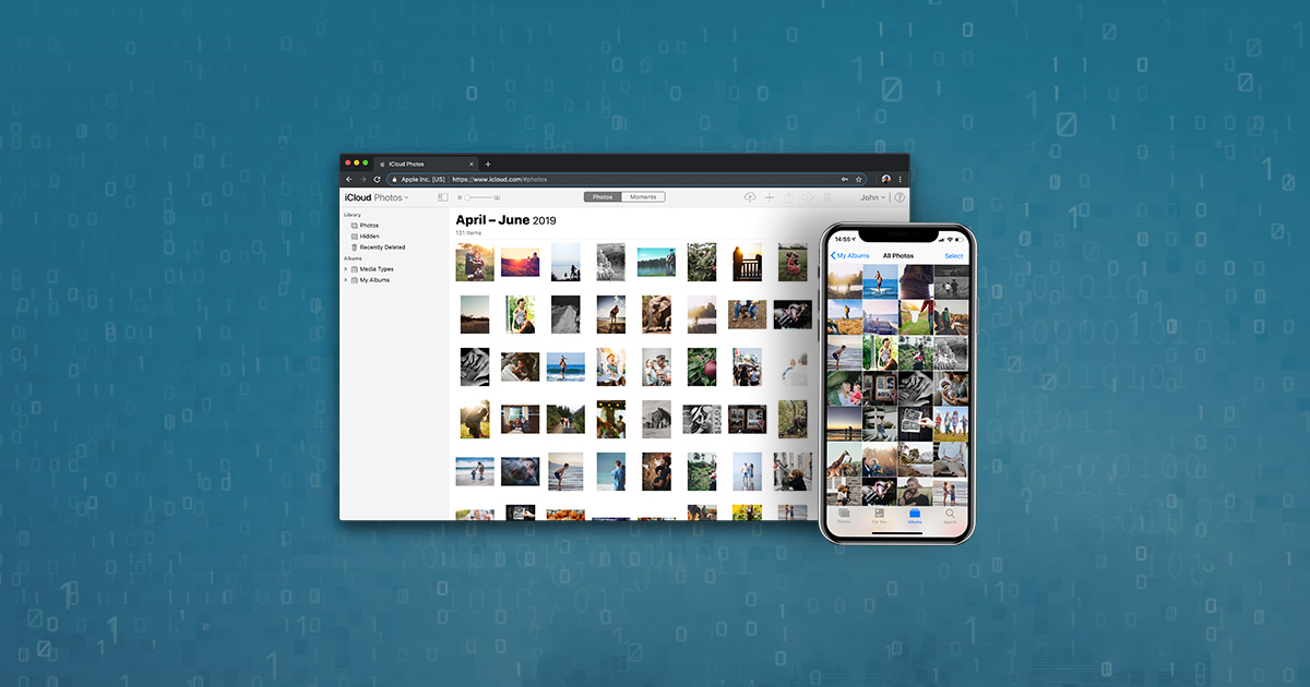 how do i download photos from icloud to my iphone