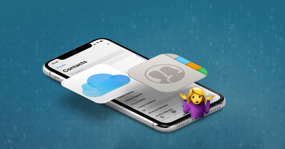 Comment exporter des contacts iPhone