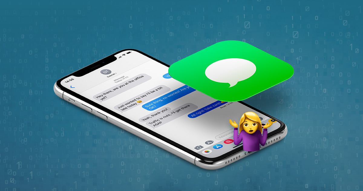 How to recover text messages from an iPhone