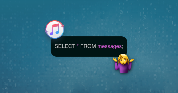 How to query data from iTunes backup SQLite and Plist files