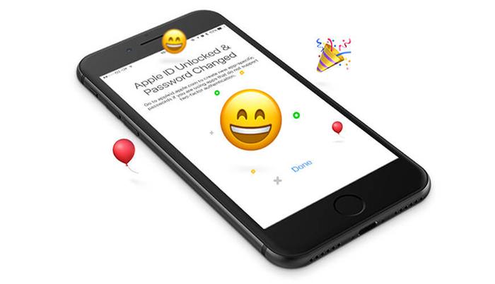 A happy, unlocked iPhone