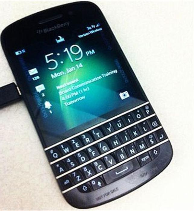 Blackberry X10