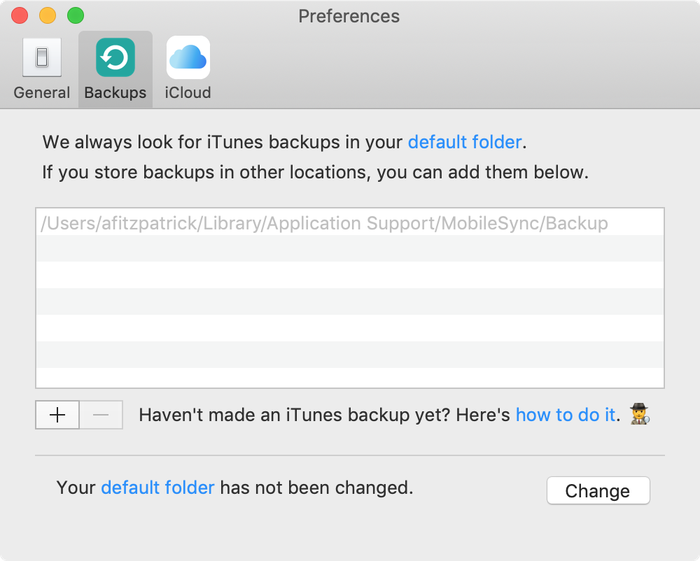 Where are iPad and iPhone backups stored on PC or Mac?