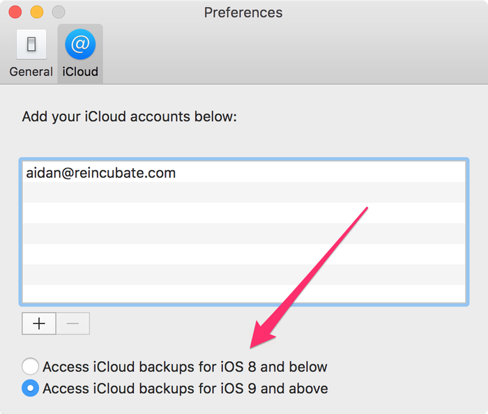 Extracting data from iOS 9 iCloud backups - Reincubate