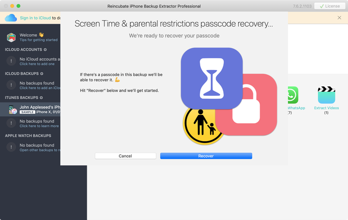 Recover your iPhone Screen Time or restrictions passcode